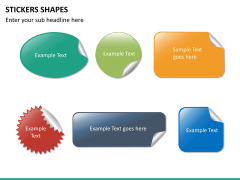 Sticker shapes PPT slide 8