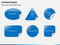 Sticker shapes PPT slide 2