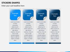 Sticker shapes PPT slide 6