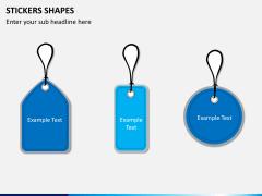 Sticker shapes PPT slide 7