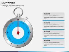 Stopwatch PPT slide 12