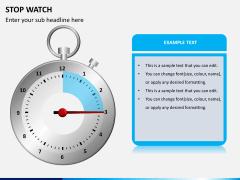 Stopwatch PPT slide 3
