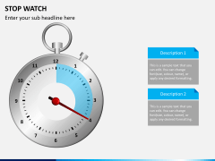 Stopwatch PPT slide 4