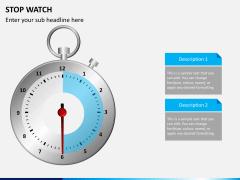 Stopwatch PPT slide 6