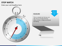 Stopwatch PPT slide 7