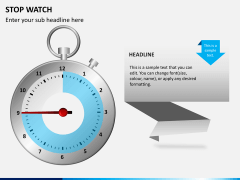 Stopwatch PPT slide 9
