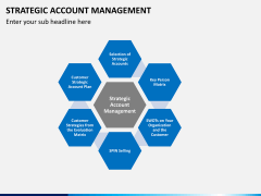 Strategic account management PPT slide 1