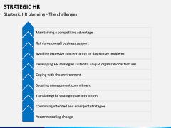 Strategic hr PPT slide 13