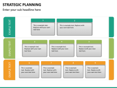Strategic planning PPT slide 20