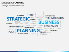 Strategic planning PPT slide 5