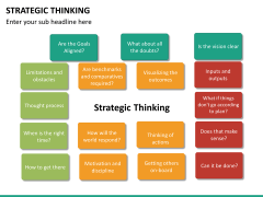 Strategic thinking PPT slide 27