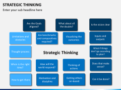 Strategic thinking PPT slide 12