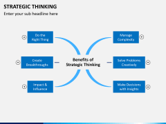 Strategic thinking PPT slide 2