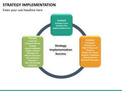 Strategy implementation PPT slide 19