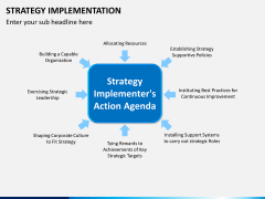 Strategy implementation PPT slide 9