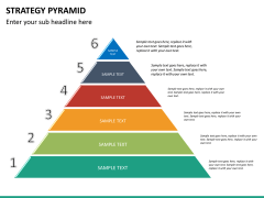 Strategy pyramid PPT slide 13