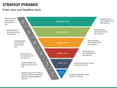 Strategy pyramid PPT slide 14