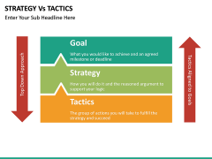 Strategy Vs Tactics PPT slide 5