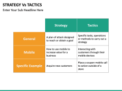 Strategy Vs Tactics PPT slide 8