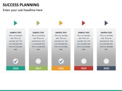 Success planning PPT slide 22