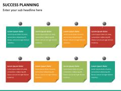 Success planning PPT slide 19