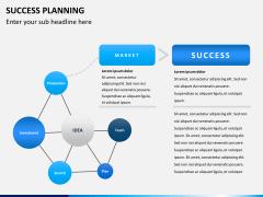 Success planning PPT slide 1