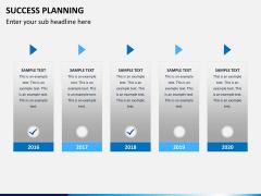 Success planning PPT slide 10