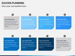 Success planning PPT slide 7