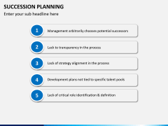 Succession planning PPT slide 17