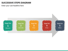 Successive steps PPT slide 21