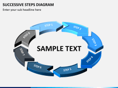 Successive steps PPT slide 10