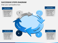 Successive steps PPT slide 11