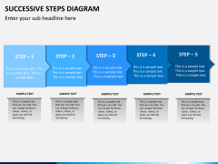 Successive steps PPT slide 3