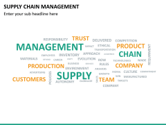 Supply chain management PPT slide 27