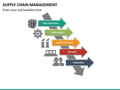 Supply chain management PPT slide 31