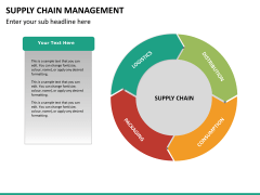 Supply chain management PPT slide 20