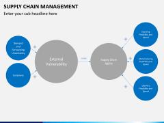 Supply chain management PPT slide 7