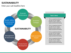 Sustainability PPT slide 14