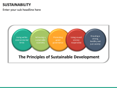 Sustainability PPT slide 20