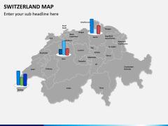 Switzerland map PPT slide 14