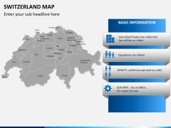 Switzerland map PPT slide 15
