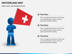 Switzerland map PPT slide 20