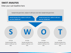 Swot analysis PPT slide 10