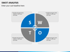 Swot analysis PPT slide 1