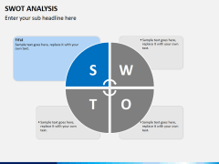 Swot analysis PPT slide 2