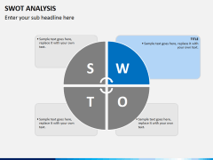 Swot analysis PPT slide 3