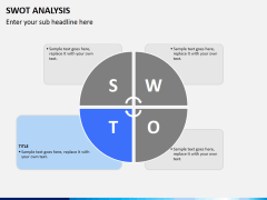 Swot analysis PPT slide 5
