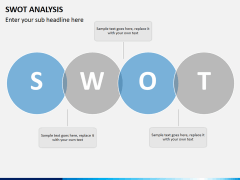 Swot analysis PPT slide 8
