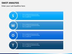 SWOT Analysis PPT Slide 9