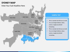 Sydney map PPT slide 10